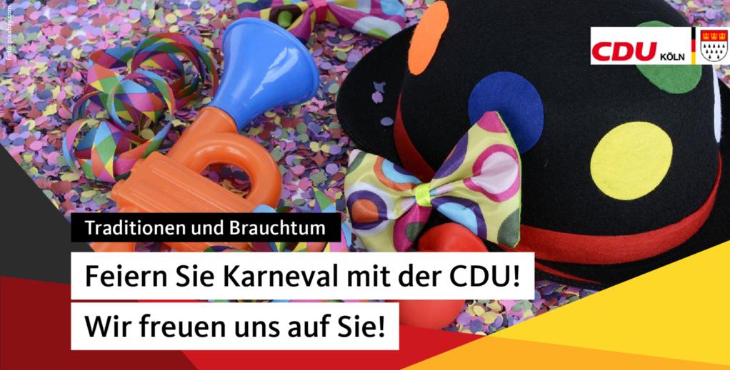 Feste  feiern mit der CDU Köln 2022