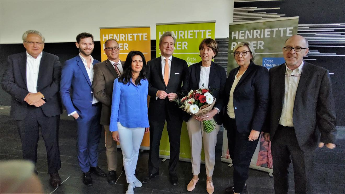 Die CDU Köln nominiert Henriette Reker für eine zweite Kandidatur