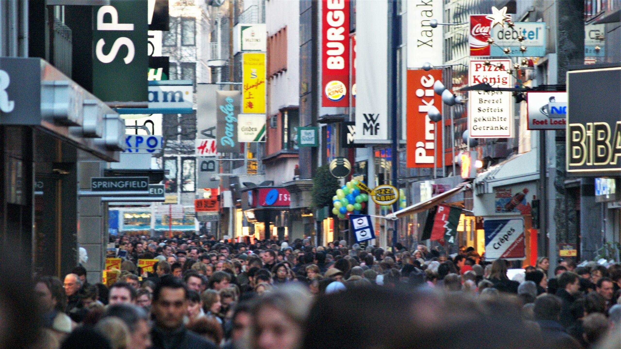 Wie sieht die Zukunft der Einkaufsstraßen aus?