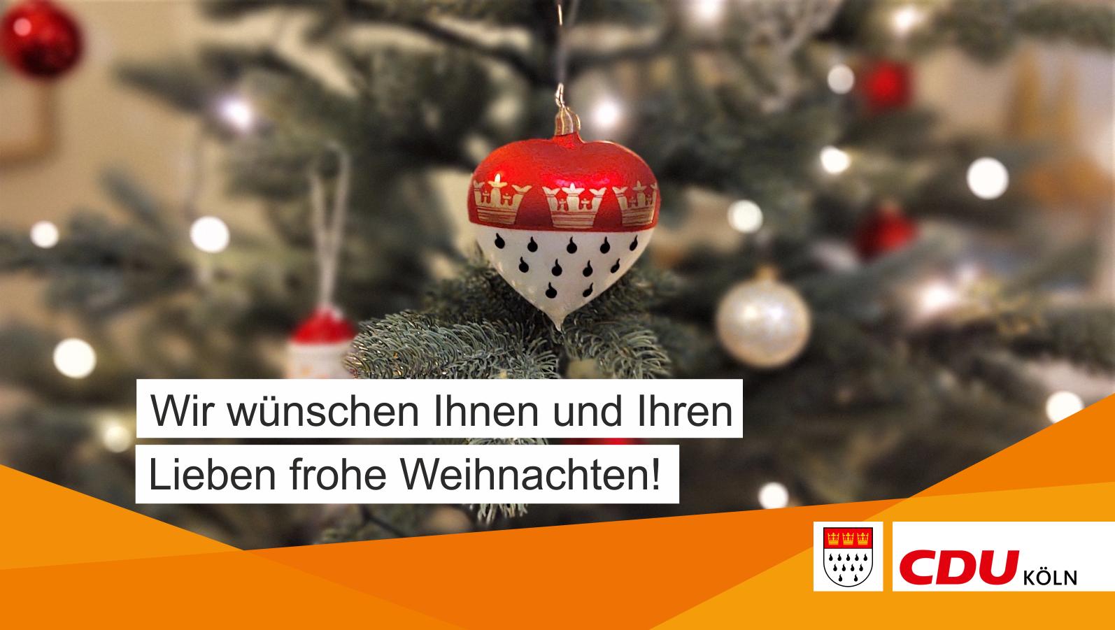 Frohes Weihnachtsfest!